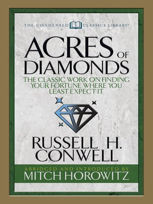 cover image of Acres of Diamonds (Condensed Classics)