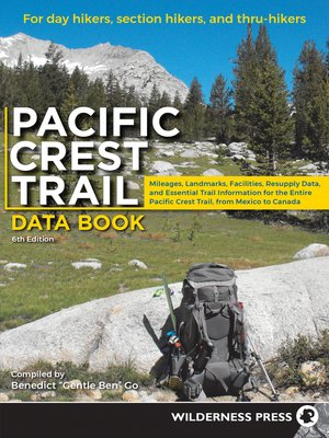 cover image of Pacific Crest Trail Data Book