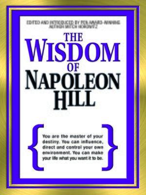 cover image of The Wisdom of Napoleon Hill