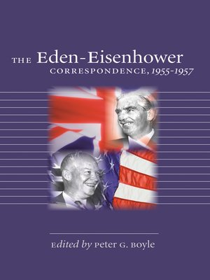 cover image of The Eden-Eisenhower Correspondence, 1955-1957