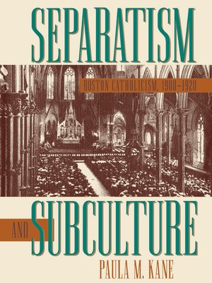 cover image of Separatism and Subculture