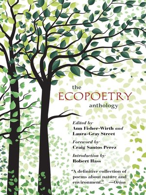 cover image of The Ecopoetry Anthology