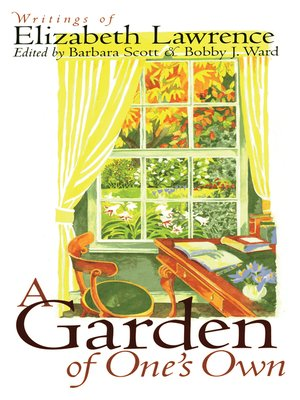 cover image of A Garden of One's Own