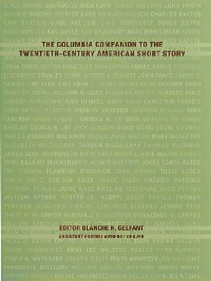 cover image of The Columbia Companion to the Twentieth-Century American Short Story