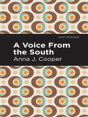 cover image of A Voice From the South