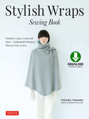 cover image of Stylish Wraps Sewing Book