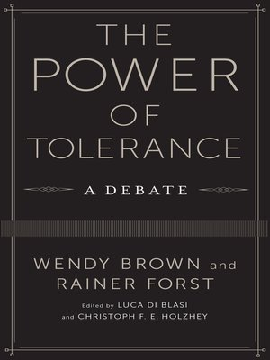 cover image of The Power of Tolerance