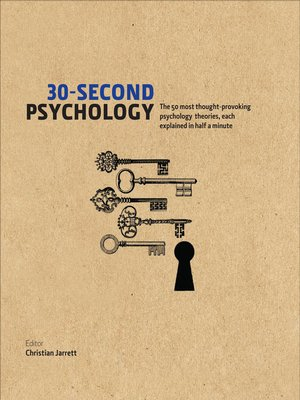 cover image of 30-Second Psychology