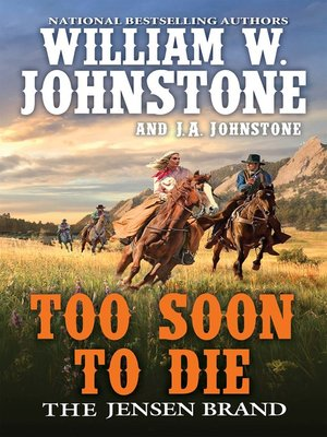 cover image of Too Soon to Die