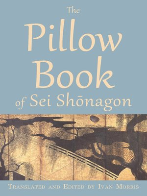 cover image of The Pillow Book of Sei Shōnagon