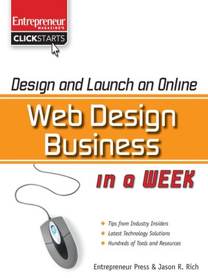 cover image of Design and Launch an Online Web Design Business in a Week