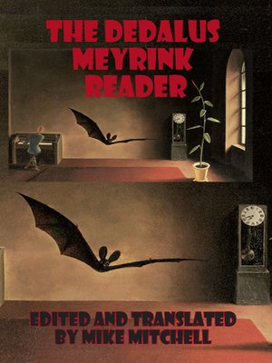 cover image of The Dedalus Meyrink Reader