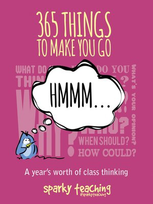 cover image of 365 things to make you go hmm ...