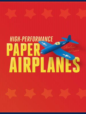 cover image of High-Performance Paper Airplanes
