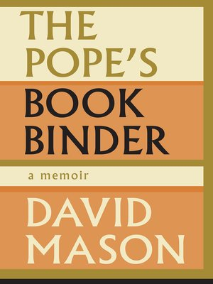 cover image of The Pope's Bookbinder
