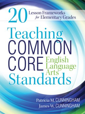cover image of Teaching Common Core English Language Arts Standards