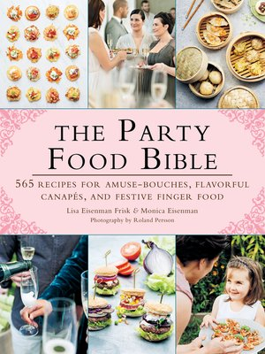 cover image of The Party Food Bible