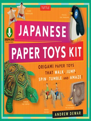 cover image of Japanese Paper Toys Kit