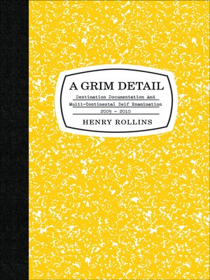 cover image of A Grim Detail