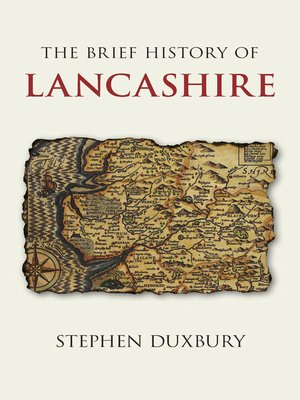 cover image of The Brief History of Lancashire