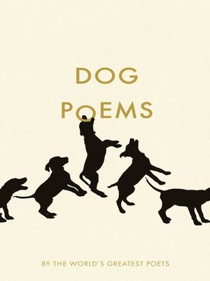 cover image of Dog Poems