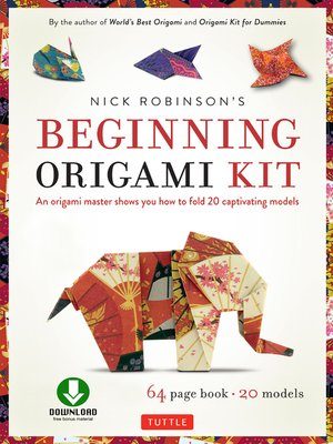 cover image of Nick Robinson's Beginning Origami Kit Ebook