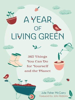 cover image of A Year of Living Green