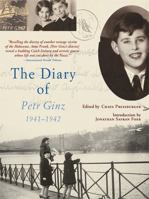 cover image of The Diary of Petr Ginz