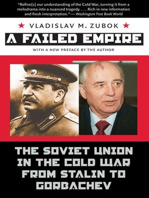 cover image of A Failed Empire