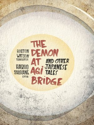 cover image of The Demon at Agi Bridge and Other Japanese Tales