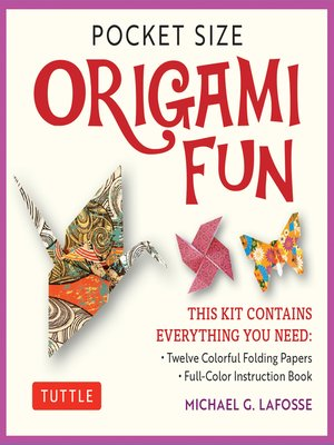 cover image of Pocket Size Origami Fun Kit