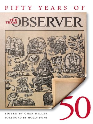 cover image of Fifty Years of the Texas Observer