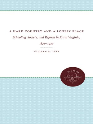 cover image of A Hard Country and a Lonely Place
