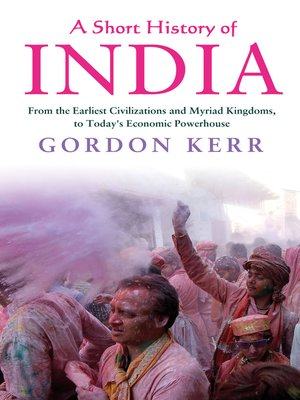 cover image of A Short History of India