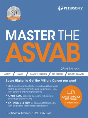 cover image of Master the ASVAB