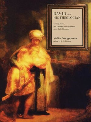cover image of David and His Theologian
