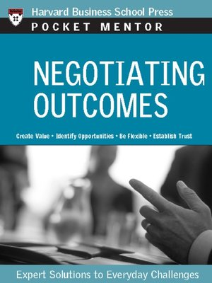 cover image of Negotiating Outcomes