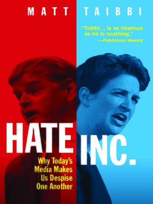 cover image of Hate Inc.