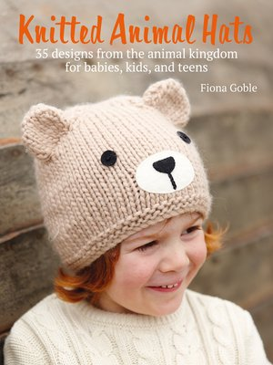 cover image of Knitted Animal Hats