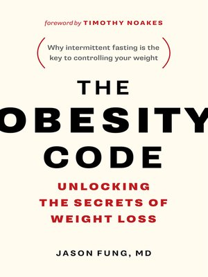 cover image of The Obesity Code