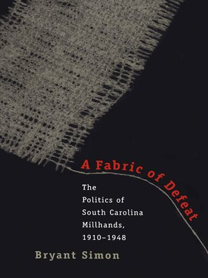 cover image of A Fabric of Defeat
