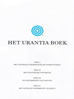 cover image of Het Urantia Boek