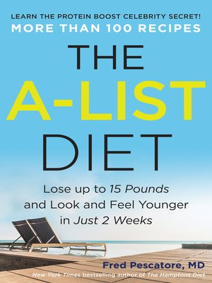 cover image of The A-List Diet