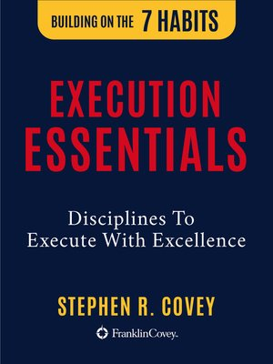 cover image of The  Execution Essentials