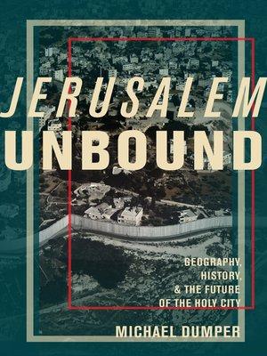 cover image of Jerusalem Unbound