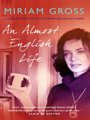 cover image of An Almost English Life