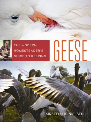 cover image of The Modern Homesteader's Guide to Keeping Geese