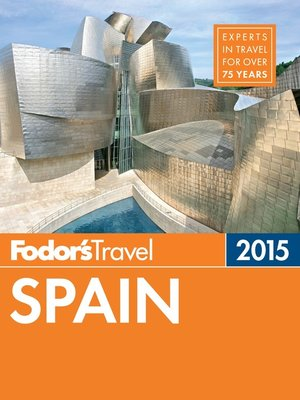 cover image of Fodor's Spain 2015