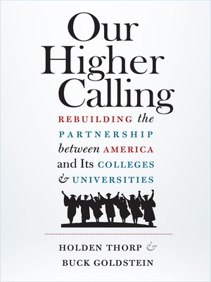 cover image of Our Higher Calling