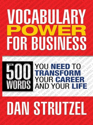 cover image of Vocabulary Power for Business